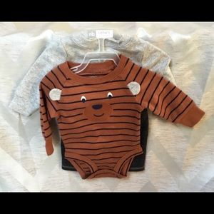 "Carter's Other - NWT CARTERS 3-Piece ""Unbearably Cute"" Set NB"